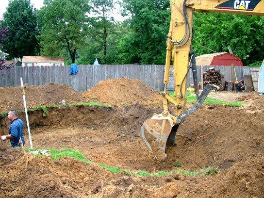 All concrete swimming pool construction process for Swimming pool construction company