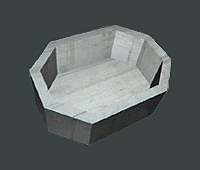 Octagon Hot Tub